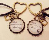 Porte-clés à la mode avec chaîne