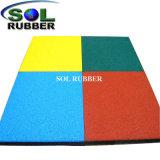 Anti Vabration certifié de couleur vive le tapis en caoutchouc
