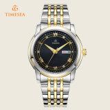 Mejor marca de acero inoxidable de calidad automática reloj 72205