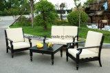 Sofá luxuoso ajustado do sofá ao ar livre moderno da mobília de /Outdoor do sofá do alumínio de molde