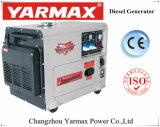 Générateur diesel silencieux portatif de Yarmax avec le meilleur prix de la CE 5.5kw 6.5kVA