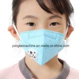 Niet Geweven Vouwend het Masker die van het Stof van het Ademhalingsapparaat Machine maken