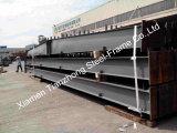 Almacén de la estructura de acero prefabricada pintada