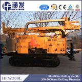 Hfw200L carretas de perfuração de poços de água para venda