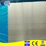 Folha de alumínio escovada 5052 H38 para o sinal de tráfego