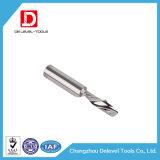 Sola herramienta de carburo modificada para requisitos particulares de tungsteno del molino de extremo de la flauta del carburo