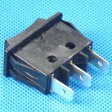 On-OFF de 3 vías negro el interruptor basculante