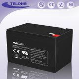 Bateria acidificada ao chumbo sadia recarregável de equipamento 12V12ah