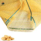 15kg 25kg gelber PET Kartoffel-Ineinander greifen-Beutel auf Verkauf