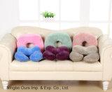 U de impressão de cores puras de almofadas grandes travesseiro Nap Inicial
