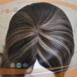 Parrucca superiore di seta del Virgin dei capelli pieni superiori di Remy (PPG-l-01648)