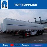 De Aanhangwagen van de Tanker van de Brandstof van de Aanhangwagens van de Tank van de Brandstof van de Aanhangwagen van de Melktank van de Tanks van de Melk van het Roestvrij staal van de titaan
