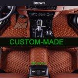 Stuoia del pavimento dell'automobile/moquette dell'automobile/stuoia del piede per Ford con il materiale del cuoio sintetico di XPE