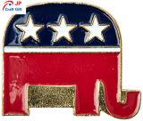 Personnaliser la forme d'éléphant Épinglette à prix d'usine