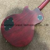 Стандартной электрической гитаре с хромированными оборудования в красный (НЛП-577)