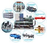 Fábrica de plástico 250ton Compressor de parafuso arrefecidos a água Chiller de Agua