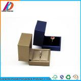 Contenitore di monili su ordinazione del cartone di marchio per l'anello/collana