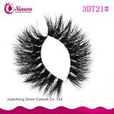 De Natuurlijke 3D Wimper van uitstekende kwaliteit van de Zweep van het Haar