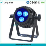 6in1 Outdoor Mini 3X14W PAR LED UV RGBWA Stade Disco Light