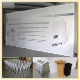 20ft Droit Pop up Stand/retour wall stand