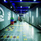 Piscina interior e ginásio de borracha EPDM Tapetes de piso do Rolo