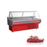 Le matériel de réfrigération de la viande de boucherie refroidisseurs d'affichage