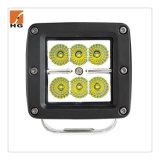 18W LED Arbeits-Licht-Hülse-Fieberhitze-Montierung 3inch 12V für Jeep-Hülse-Licht