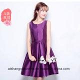 Art-Satin-Brautjunfer-Kleid-Schwester-Fußleiste des Brautjunfer-Kleid-2017 neue