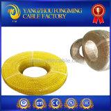 Fios revestidos do aquecimento da fibra da caixa do silicone