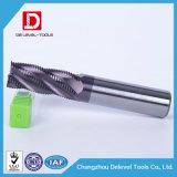 Molino de extremo del desbaste del carburo de la flauta de la alta precisión 5 para el acero de carbón
