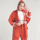 Vêtements imperméables de sûreté de PVC de polyester de PVC avec la bande r3fléchissante