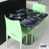 Tabella pranzante superiore del ristorante del marmo moderno della mobilia