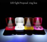 LED-heller hoher Grad-kreativer Schmucksache-Kasten, Angebots-Ring-Kasten, kreativer Schmucksache-Kasten für Ring und Ohr-Stift