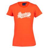 Рубашки тройника Spandex повелительниц Cooldry полиэфира 92%/8% напечатанные Elastane