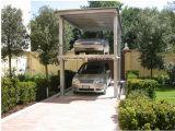 Elevador dobro hidráulico do estacionamento da plataforma para o carro com CE