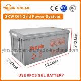 3000W off-grid Sistema de Energia solar para a Solar
