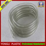 Fil d'acier en spirale en PVC transparent flexible renforcé