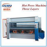 Three-Layers Presse à chaud de la Machine Outil Wodoworking Appuyez sur la machine de transfert de chaleur