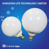 100lm/W 360 luz de bulbo del globo del grado G120 24W LED