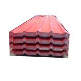 Le bâtiment le matériau de couverture fer galvanisé colorés tôle de toit pour l'Afrique
