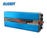 Suoer 24V gelijkstroom aan AC 3000W de Zuivere Omschakelaar van de Macht van de Golf van de Sinus met Interface USB (fpc-3000B)