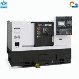 Ck63L에 의하여 경사되는 가이드 레일 기울기 침대 CNC 선반 기계
