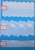 Preiswerte Stickerei-Baumwollspitze für Dekoration