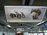 Châssis en aluminium boîte à lumière LED Shopping Mall affichage publicitaire