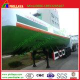 40-55cbm 반 액체 이산화 탄소 트럭 산소 액화천연가스 탱크 트레일러