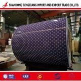 PPGI na bobina de aço com revestimento de cor por grosso de fita de aviso