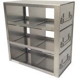 """Cremalheiras do refrigerador dos produtos do laboratório para caixas do padrão 3 """""""