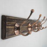 High-Grade hermosa ropa Gancho Gancho de tablero de metal y madera (ZH-7032)