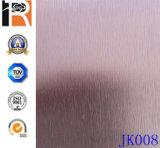 Feuille HPL réfléchissante en métal argenté (JK008)