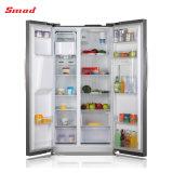 Edelstahl-Side-by-side Kühlraum mit Eis-Hersteller